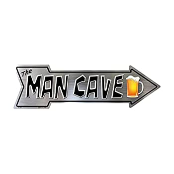 Smart Blonde Outdoor Decor The Man Cave Novelty Metal Arrow Sign A-146
