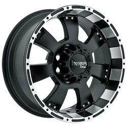 Incubus 815 Krawler 20×9.0 Flat Black & Machined Wheel 6x135mm Bolt Pattern / +12mm Offset / 87.1 Hub Bore