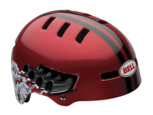 Bell Fraction Youth Multi-Sport Helmet (Red Daytona,
