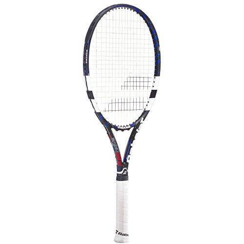 Babolat Erwachsene Tennisschläger Pure Drive 107 GT, Schwarz/Weiß/Blau, L3, 101173