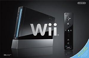Wii本体 (クロ) (「Wiiリモコンプラス」同梱) (RVL-S-KAAH)【メーカー生産終了】