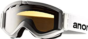 Anon Men's Figment Painted Goggles - White/Silver Amber