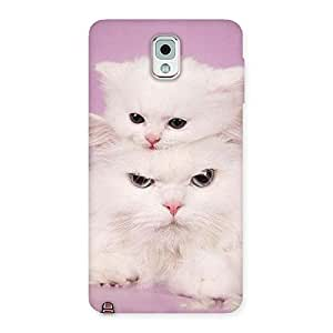 Kitty Family Back Case Cover for Galaxy Note 3