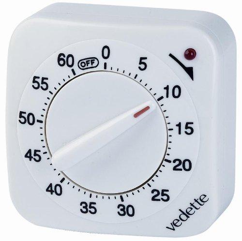 Montres accessoires vedette vm10001 minuteur quartz - Minuteur 7 minutes ...