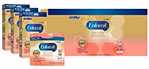 Enfamil A.R. Baby Formula for Spit Up Powder Can, for Babies 0-12 Months, 118.1 oz. (Packaging May Vary)