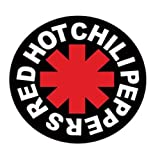 Merchandise - Red Hot Chili Peppers - Aufkleber Logo (in 9,5 cm x 9,5 cm) von Red Hot Chili Peppers