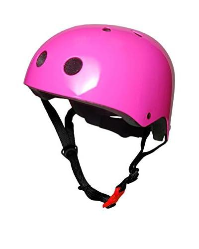 kiddimoto Casco Kids Design Sport Neon Pink