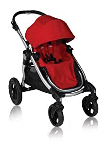 Baby Jogger 2010 City Select Single Stroller, Ruby (Discontinued by Manufacturer)