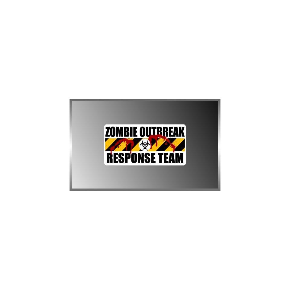 Resident Evil Zombie Outbreak Response Team Blood Splatter Biohazard Team Vinyl Decal Bumper Sticker 3x6