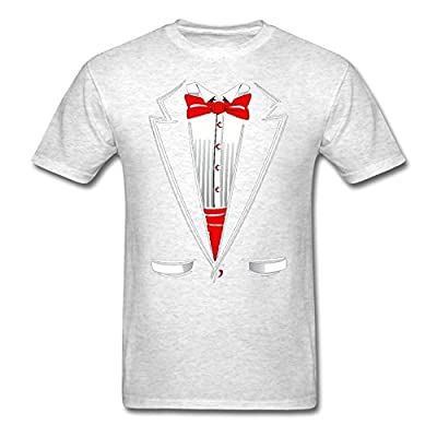 Fresh Tees® Black And White Tuxedo With Bowtie Funny Shirts