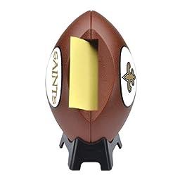 Post-it Pop-Up Notes Dispenser for 3x3 Notes, Football Shape - New Orleans Saints (FB-330-NO)