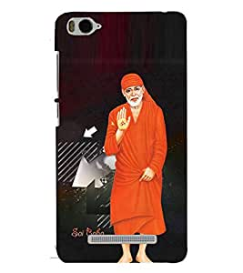 Fuson Sai Baba Case Cover for Xiaomi Mi 4C