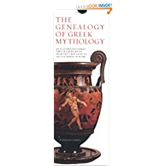 The Genealogy of Greek Mythology: An Illustrated Family Tree of Greek Myth from the First Gods to the Founders of Rome
