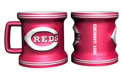 Cincinnati Reds Sculpted Mini Mug Shot Glass
