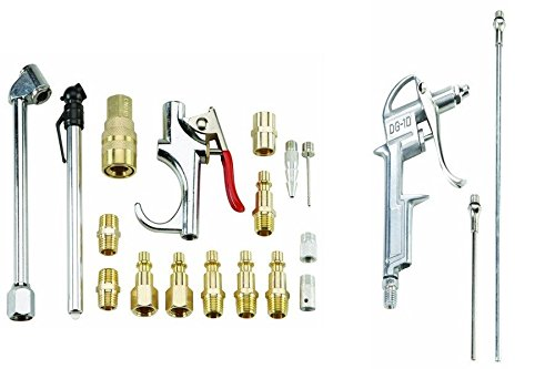 NEW-Air-Compressor-Pneumatic-Accessory-Kit-4-pc-Air-Blow-Gun-Set-Combo-Lot