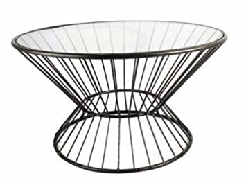 Fashion N High Quality You by Horizon Interseas Wire Framed Coffee Table