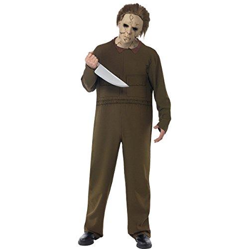 Smiffy's Costume Michael Myers Halloween Film Originale, L, Nero