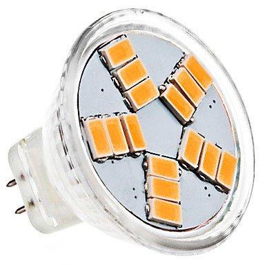 Mr11 4W 15X5630Smd 380-420Lm 3000-3500K Warm White Light Led Spot Bulb (Ac 12V)