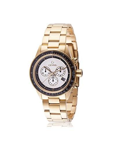 Gevril Men's A2115 Tribeca Analog Display Quartz Gold Watch