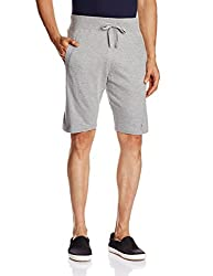 Parx Men's Cotton Shorts (8907253447267_XMBZ00027-G2_30_Light Grey)