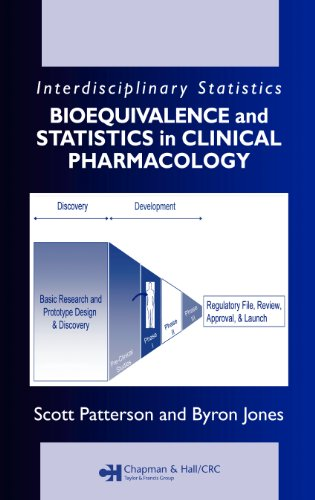 James Patterson - Bioequivalence and Statistics in Clinical Pharmacology (Chapman & Hall/CRC Biostatistics Series)