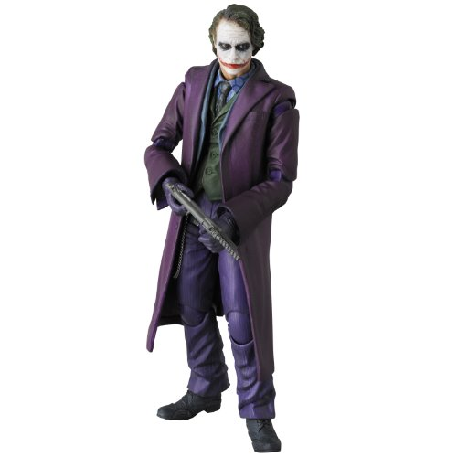 Medicom - Figurina Batman Dark Knight Rises - Joker MAF 15cm - 4530956470054