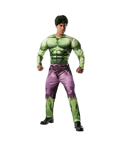 Classic Marvel Incredible Hulk deluxe Adult Costume