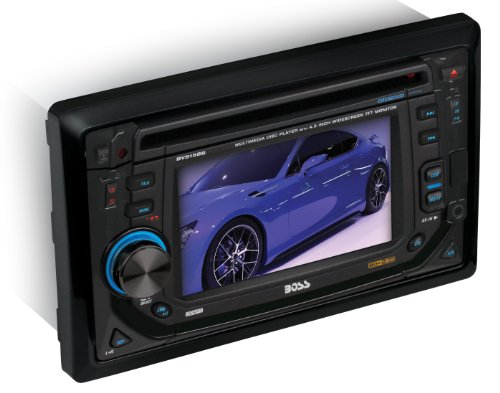Boss Audio Bv9158B In-Dash Double-Din 4.5-Inch Detachable Touchscreen Dvd/Cd/Usb/Sd/Mp4/Mp3 Player Receiver Bluetooth Streaming Bluetooth Hands-Free With Remote