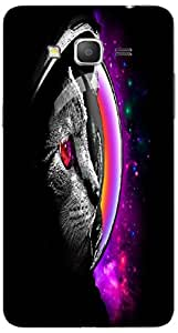 Timpax protective Armor Hard Bumper Back Case Cover. Multicolor printed on 3 Dimensional case with latest & finest graphic design art. Compatible with Samsung Galaxy Grand 2 / G7102 / G7105 Design No : TDZ-26956