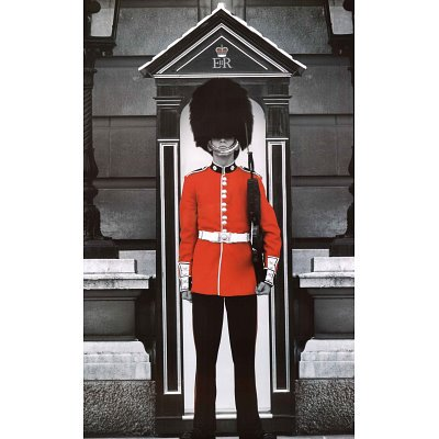 London Royal Guard Art Print Poster - 24x36