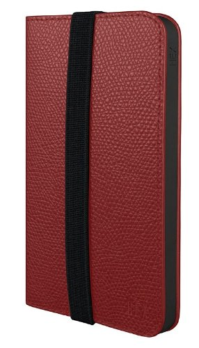 Best Price HEX Axis Wallet for iPhone 5 in Torino Red