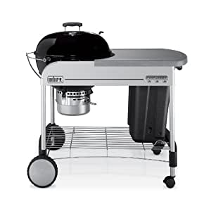 Weber 1411001 Performer Charcoal Grill, Black (Discontinued by Manufacturer)