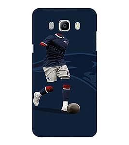EPICCASE Footballer Mobile Back Case Cover For Samsung J5 2016 (Designer Case)