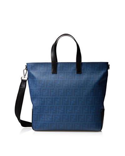 Fendi Men's Tote Bag, Cobalt Black