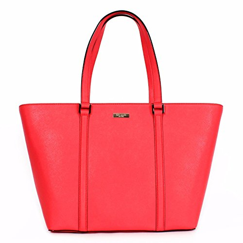 Kate Spade Dally Newbury Lane in Saffiano Leather Ger Red (New York In A Bag compare prices)