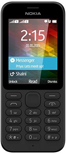 Nokia 215 Smartphone Dual SIM, Nero [Italia]