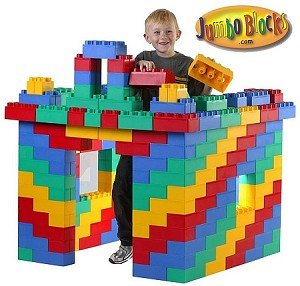 96 Piece Jumbo Block Set