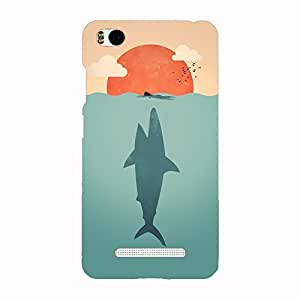 Back cover for Xiaomi Mi4i Shark Attack Art