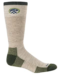 Darn Tough Vermont Merino Wool ATC Boot Sock Cushion, Oatmeal, Small
