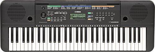 Yamaha-PSR-E253-Teclado-porttil-61-teclas-372-sonidos-100-canciones-color-negro