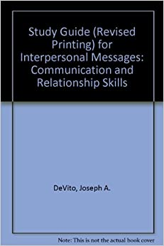 interpersonal messages communication and relationship skills