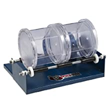 "Dura-Bull 202211 Double Barrel Rotary Tumbler, 11"" Width x 7-1/2"" Height x 8-1/2"" Depth, 110-120V"