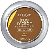 L'oreal True Match Super Blendable Powder Compact With Mirror 9g-W10 Deep Golden