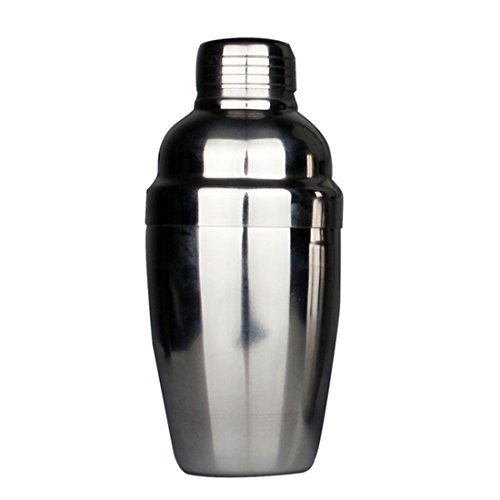 Amjimshop Vovotrade(Tm) New Stainless Steel Cocktail Shaker Martini Bartender Shaker Drink Mixer