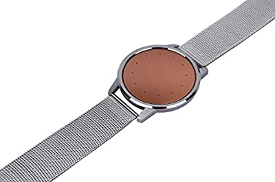 Weston Jewelers® Adjustable Wearable's Watch Band Stainless Steel Aluminum Mesh Wrist Strap for Misfit Shine 2 Activity and Fitness Tracker