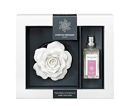 ᗚparfum berger 6052 sur plateau parfum chic chic transparent 30 ml cuisine
