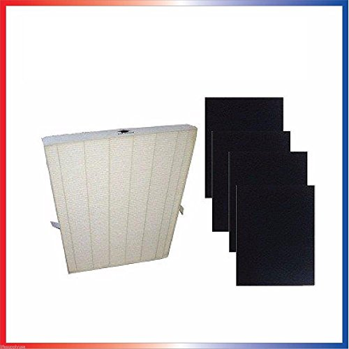 Heating, Cooling & Air True HEPA Plus 4 Replacement Filter for Winix 115115 5300 5500 6300 Size 21