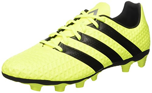Adidas Ace 16.4 Fxg, Scarpe da Calcio Allenamento Uomo, Multicolore (Syello/Cblack/Silvmt), 44 2/3 EU