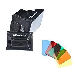 Micnova Universal Gel Softbox Diffuser for External Camera Flash Units (MQ-B6)
