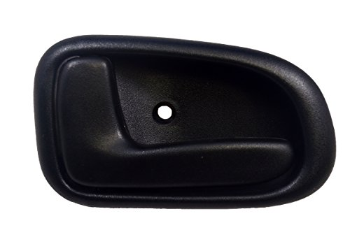 PT Auto Warehouse TO-2522A-LH - Inside Interior Inner Door Handle, Black - Driver Side (Toyota Corolla 1993 Door compare prices)